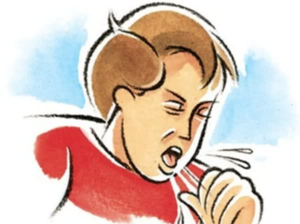 кашель с мокротой и насморк без температуры