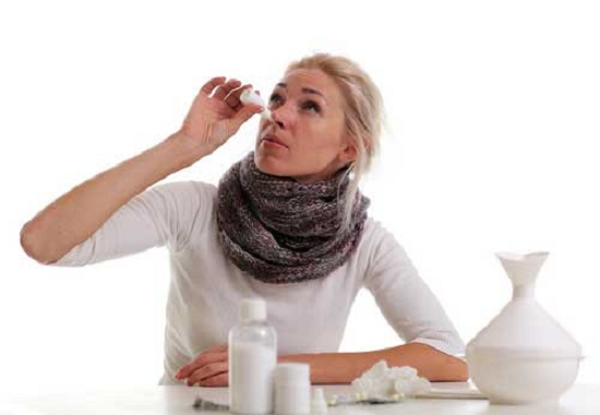 Как избавиться от насморка и заложенности носа
